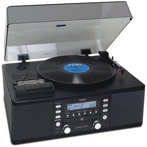 Teac All-In-One Hi-Fi Stereo Turntable CD Player/Recorder/Ca