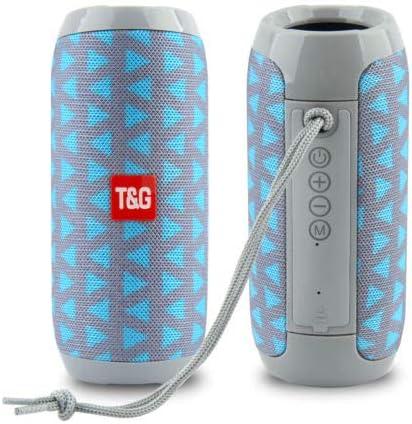 RiderTech 117 Bluetooth Speaker Portable Waterproof Outdoor Wireless Speakers Enhanced Ba