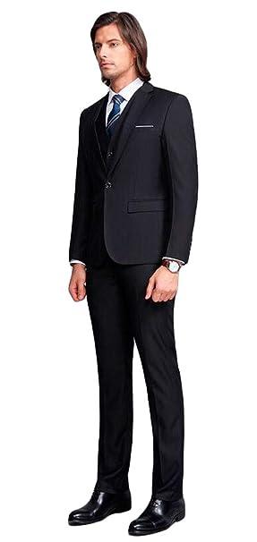 Amazon.com: Para hombre solapa de pico 3 pc traje de ...