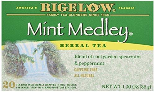 Bigelow Tea Mint Medley Tea, 20 ct - Mint Medley Herb Tea