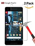 [2 PACK] Google Pixel 2 Screen Protector,DeFitch Case Friendly Ultra Clear Anti-Scratch Bubble Free Tempered Glass Screen Protector with Lifetime Replacement Warranty