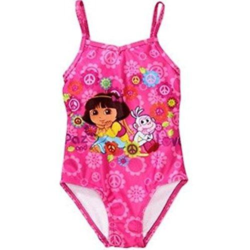 Nickelodeon Dora The Explorer Little Girls One Piece Swimsuit Size 18 Month