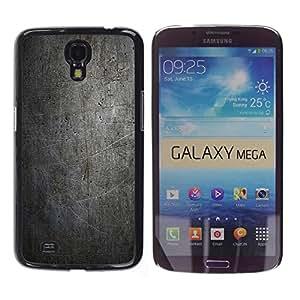 Stuss Case / Funda Carcasa protectora - NEGRO MODELO DEL GRUNGE DE LA VENDIMIA - Samsung Galaxy Mega 6.3