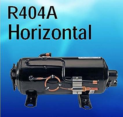 Refrigeración GOWE CE ROHS piezas R404 A refrigeración compresor hermético para refrigeración de coche