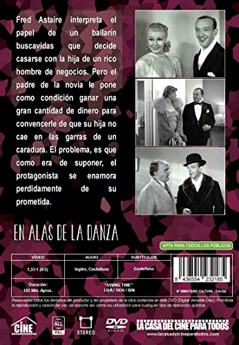 Swing Time (Region 2) En Alas De La Danza (Fred Astaire, Ginger Rogers,) [ Non-usa Format, Import - Spain ]