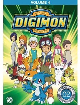Digimon Adventure: 4 [Reino Unido] [DVD]: Amazon.es: Cine y Series TV