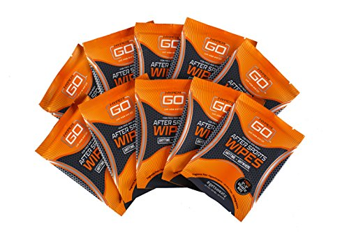 HyperGo After Sports Wipes, Pack of 10