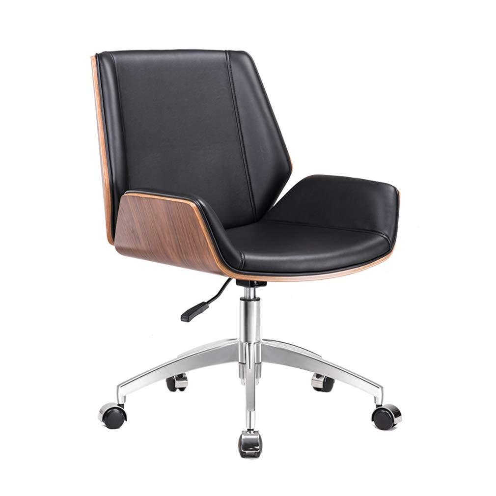家/オフィス/調査のための回転イスの持ち上がるコンピュータチェア学習の事務机の椅子の余暇のあと振れ止めの椅子  #1 B07MF1B8N4