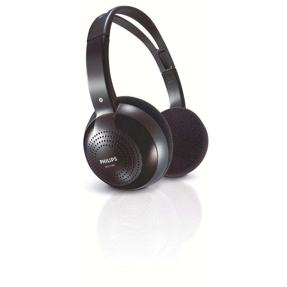 Casques et écouteurs PHILIPS SHC1300 NOIR