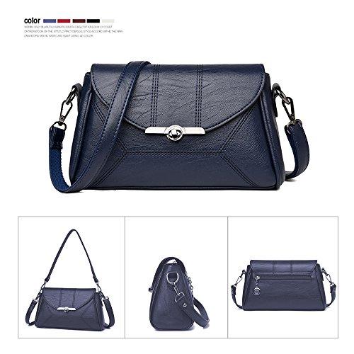 azul mujer al C hombro JACVAAP para oscuro Bolso Azul JVPS2021 Oscuro C1wZqa