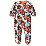 The Children's Place Boys' Blanket Sleeper Pjs, Sports/Squash Orange, 9-12 Months