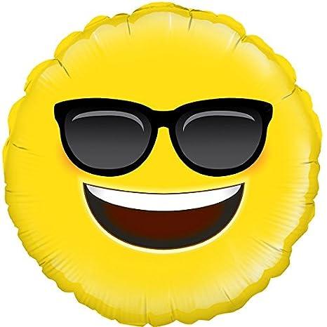 OakTree Emoji - Globo de fiesta, diseño de gafas de sol, 45 ...