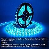 SUPERNIGHT LED Strip Lights, 16.4FT 5M SMD 5050