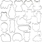 Animal Cookie Cutter Set Designed by 17 cookie artists, Sweet Sugarbelle, Arty Mcgoo, Chapix Cookies, Blyss Cookies. Profits donated to Charity!