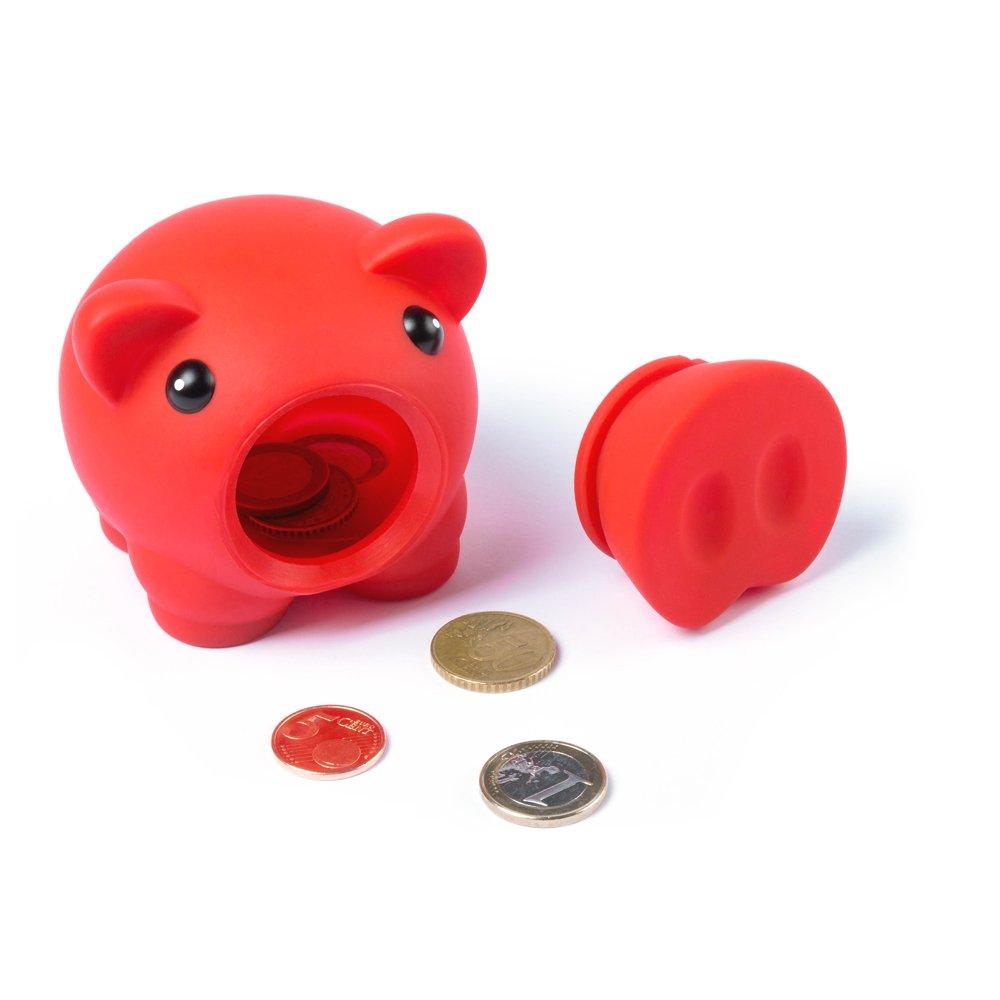 Amarillo /Banco eBuyGB 1274708/Novelty Pig dise/ño de Cerdo Dinero Caja de Ahorro para Monedas y Billetes/
