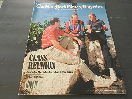 New York Times Magazine Aug 30 1987, Cuban Missile Crisis - Cuban Vintage Magazine