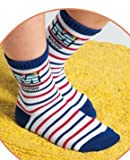 FANTASIEN 10 Pairs Boys Cotton Socks Seaman Kids Socks Size Ages 4-7 Years