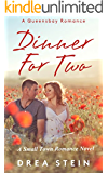 Dinner For Two: A Small Town Romance Novel (The Queensbay Series Book 1)