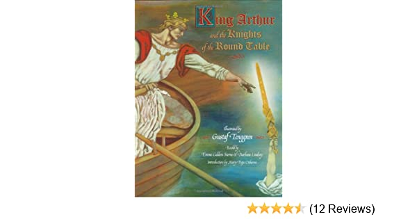 12 Knights Of The Round Table.King Arthur And The Knights Of The Round Table Little Golden Book