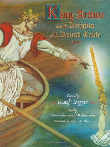 Read Online King Arthur and the Knights of the Round Table (Little Golden Book) pdf