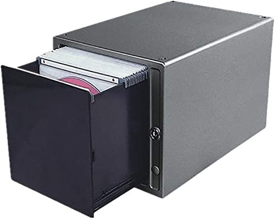 GWXJZ Estanterías para CD DVD Caja de Almacenamiento de CD Estante Ligero táctil Gran Capacidad 80 Discos Transparentes Soporte para CD Rack de Escritorio para CD (Color : A): Amazon.es: Hogar