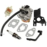 Panari Carburetor + Insulator for Champion Power Equipment CPE ST168FD Engine ST168FD-1130003-CPE ST168FD-2-1131000 and ST168FD-1130005 Gasoline Generator