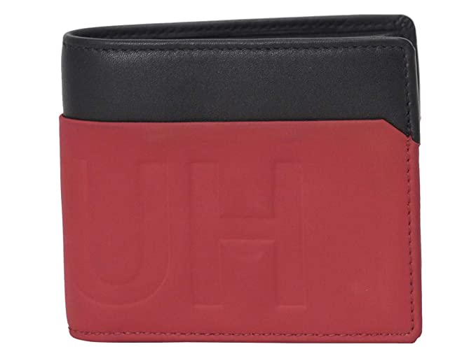 Amazon.com: Hugo Boss Hero - Monedero de piel auténtica para ...