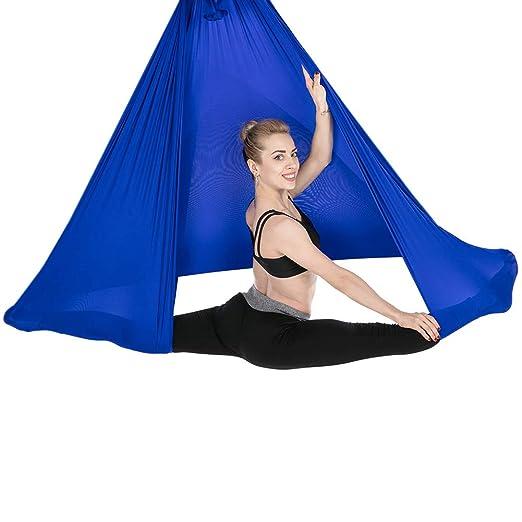 WOWSAE Yoga Columpio, Hamaca Yoga Aereo Elástica Anti ...