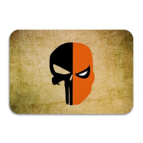 SARHT Deathstroke Punisher Skull Face Mask Non-slip Doormat