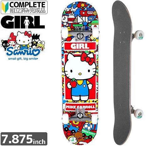 Amazon girl skateboard carroll hello kitty girl skateboard carroll hello kitty complete 7875 x 3125 voltagebd Image collections