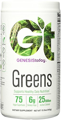 Genesis Today, Genessentials Greens Powder, 15.5 Ounce
