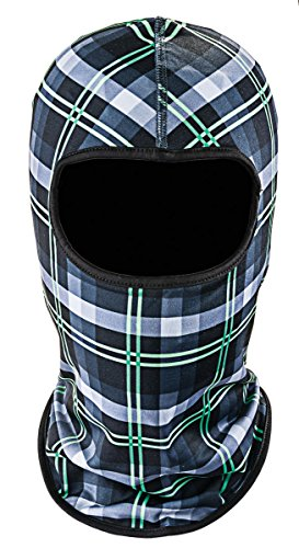 Bula Sharp Printed Balaclava, Black P, One Size