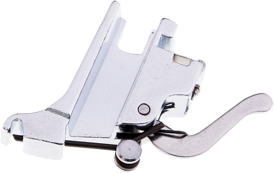 MagiDeal Máquina de Coser Estándar Adaptador Sostenedor Pie Prensatelas Caña Alta Acero Costura
