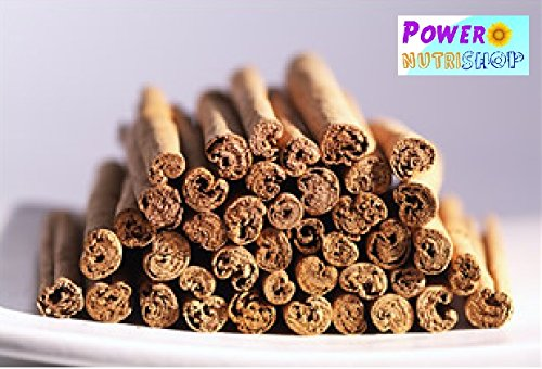 BEST QUALITY GROWN ORGANICALLY PURE CEYLON ALBA CINNAMON STICKS SRI LANKA, ALBA GRADE (1 LB (16 OZ)) by PowerNutri Shop (Image #2)