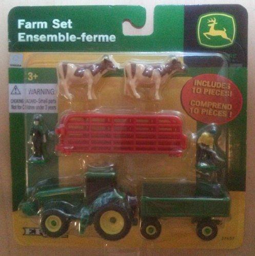 Ertl John Deere Mini 10 Piece Farm - Tractor Tailor