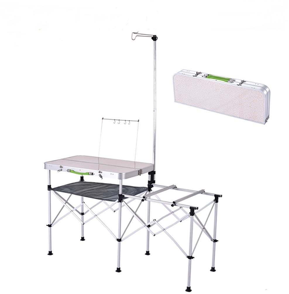 Ruirui Mobile Küche Grill Multifunktionsfalte Campingkocher bewegliche im Freien