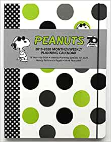 Linus and Charlie Brown Lucy Snoopy 2019 Peanuts Daily Desk Calendar