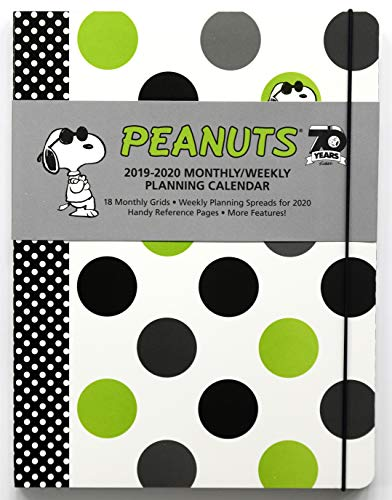 Peanuts 2019-2020 Monthly/Weekly Planning Calendar (Weekly Planning Calendar)