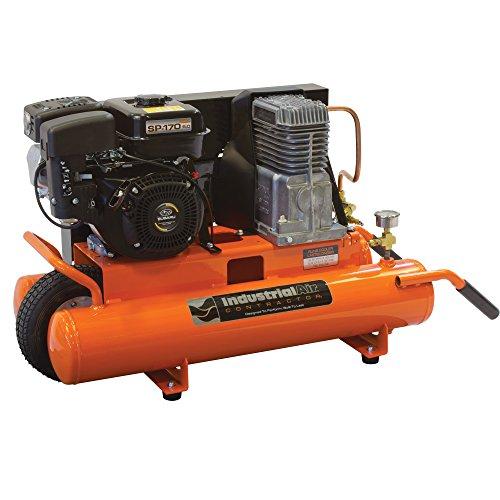 Industrial Air Contractor CT5590816.02 8-Gallon Grade Belt Driven Wheelbarrow Air Compressor with Subaru Engine
