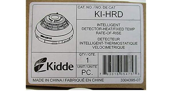 Amazon.com: Kidde KI-HRD - Intelligent Fixed Temperature/Rate of Rise Heat Detector: Camera & Photo