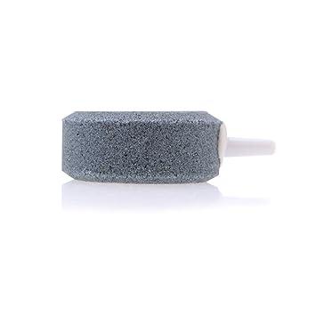 Anself Anself 4cm Piedra de oxígeno oxigenador de acuario de burbuja de aire aireador de pecera para tanque de peces bomba de oxígeno hidropónica placa: ...
