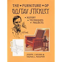 The Furniture of Gustav Stickley: History, Techniques, and Projects