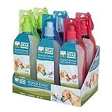 Guardian Gear Plastic Handi-Drink Regular Displays — Convenient and Versatile Water Bottles for Dogs, 6-Pack