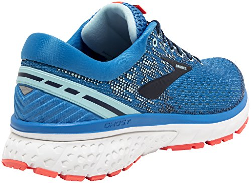 Shoe 5 Running Blue Ghost Navy UK Coral Ladies 7 11 Brooks q4xTtw
