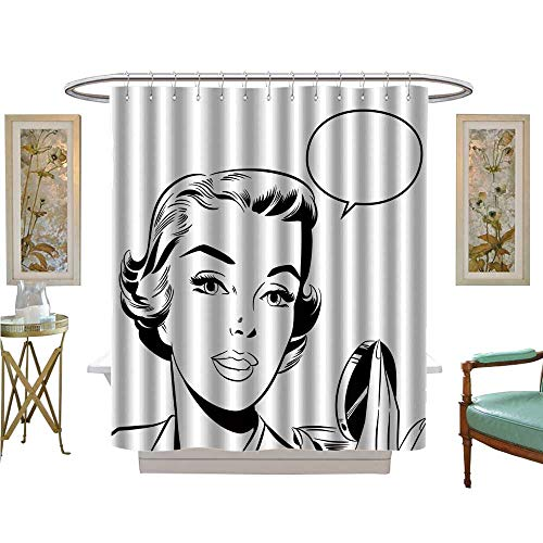 Used, luvoluxhome Shower Curtains Digital Printing pop Art for sale  Delivered anywhere in USA