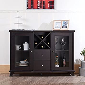 247SHOPATHOME IDI-13835 sideboards Espresso