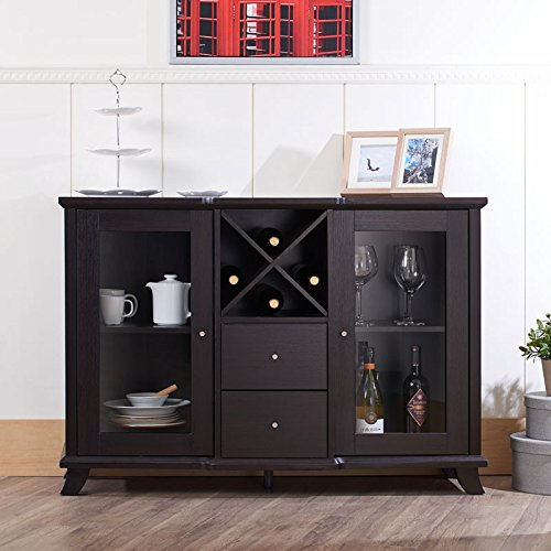 24/7 Shop at Home 247SHOPATHOME IDI-13835 sideboards, Espresso