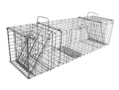 Model 206.5 - Tomahawk Collapsible Double Door Raccoon Trap by Tomahawk Live Trap