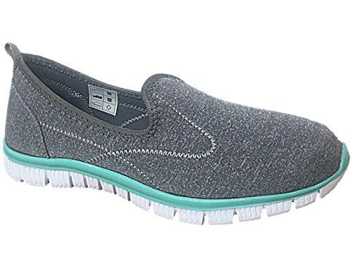 Cushion Walk , Damen Sneaker Mid Grey/Mint
