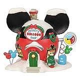 Department 56 Disney Village Mickey's Balloon Inflators Lit Building 6.75'' Multicolor